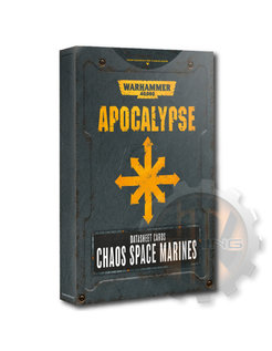 Apocalypse D/Sheets: Chaos S/Marines