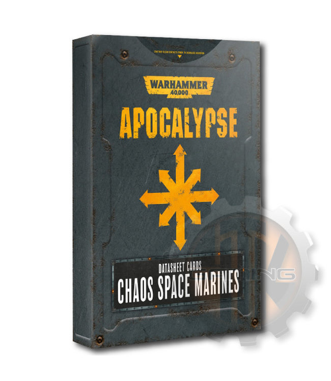 Apocalypse Apocalypse D/Sheets: Chaos S/Marines