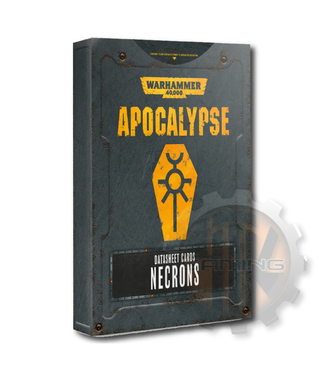 Apocalypse Apocalypse Datasheets: Necrons