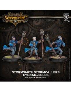 Cygnar Stormsmith Storm Callers (3)