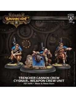 Cygnar Trencher Cannon Crew