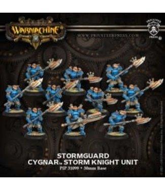 Cygnar Stormguard Storm Knights (10) PLASTIC