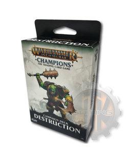 WHC: Destruction Campaign Deck
