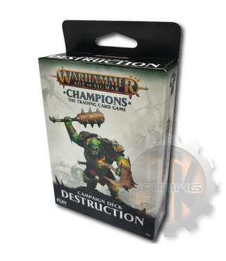 Champions WHC: Destruction Campaign Deck