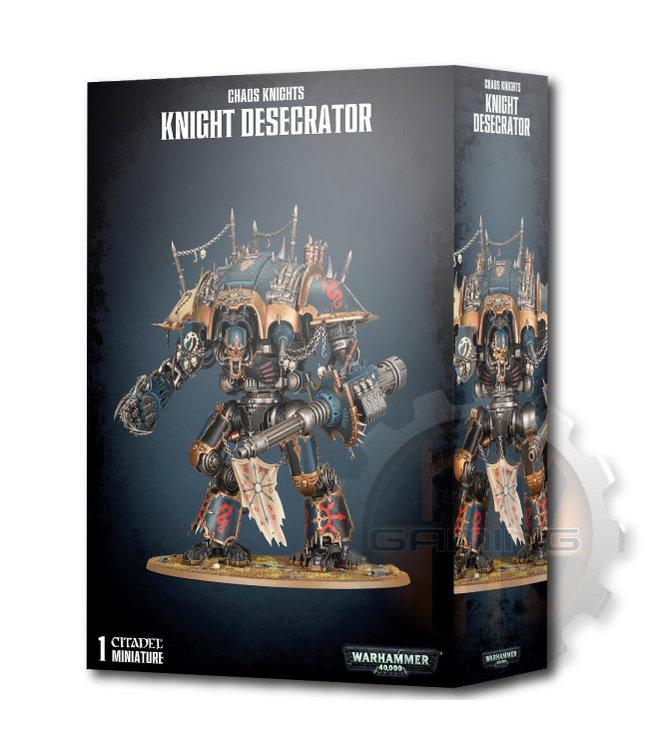 Warhammer 40000 Chaos Knights: Knight Desecrator