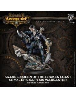 Cryx Epic Skarre Queen of the Broken Coast