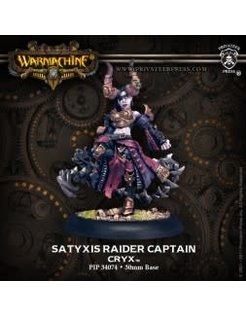 Cryx Satyxis Raider Captain