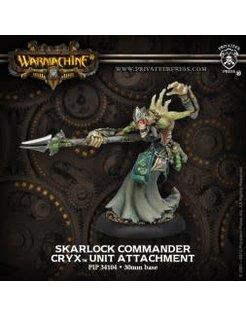 Cryx Skarlock Commander
