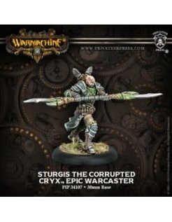 Cryx Epic Warcaster Sturgis The Corrupted