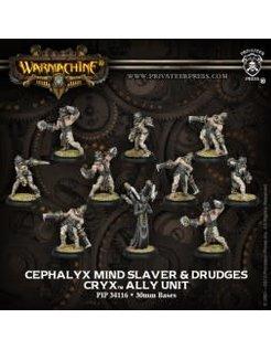 Cryx Mind Slaver & Drudges (10) REPACK