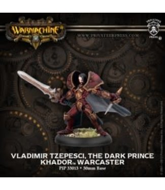 Khador Warcaster Vladimir Tzepesci