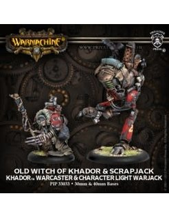 Khador Old Witch & Scrapjack (2)