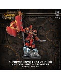 Khador Epic Supreme Komm. Irusk