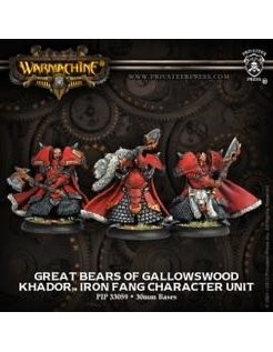 Khador Great Bears of Gallowswood (3)