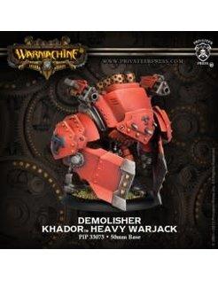Khador Demolisher Devastator Spriggan (1) PLASTIC