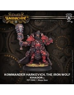 Khador Warcaster Kommander Harkevich, Iron Wolf
