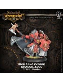 Khador Iron Fang Solo Kovnik