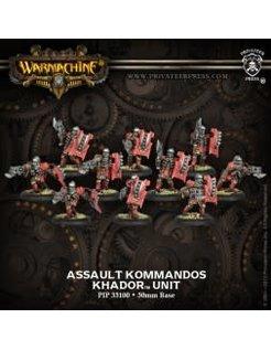 Khador Assault Kommandos (10) REPACK