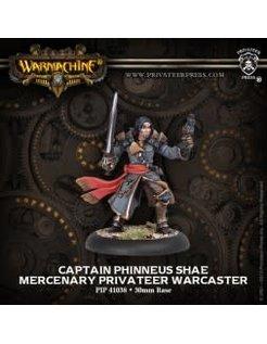 Mercenary Capt. Phinneus Shae