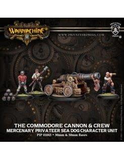 Mercenary Commodore Cannon & Crew (4)