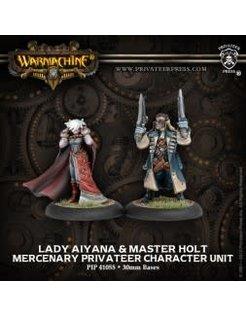 Mercenary Privateer Lady Aiyana & Master Holt (2)