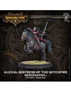 Mercenary Alexia Mistress of Witchfire
