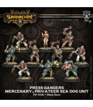 Mercenary Press Gangers (10) REPACK
