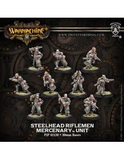 Mercenary Steelhead Halberdiers or Riflemen (10) PLASTIC