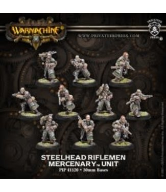 Mercenary Steelhead Halberdiers or Riflemen (10) PLASTIC