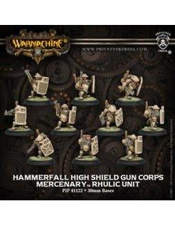 Mercenary Hammerfall High Shield Gun Corps (10) REPACK