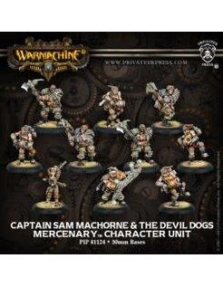 Mercenary Capt. Sam MacHorne & Devil Dogs (10) REPACK