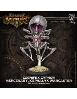 Mercenary Cephalyx Warcaster Cognifex Cyphon inc resin
