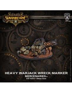 Mercenary WRECK MARKER Heavy Warjack metal