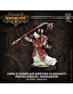 Protectorate Warcaster High Exemplar Kreoss