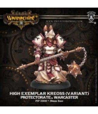 Protectorate Warcaster High Exemplar Kreoss RESCULPT
