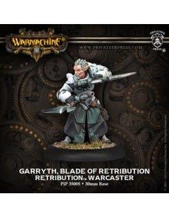 Retribution Warcaster Garryth, Blade of Retribution
