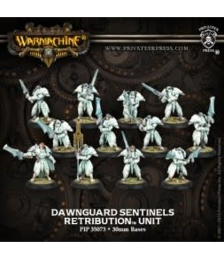 Retribution D/G Sentinals & 2 Unit Attachments (12) PLASTIC