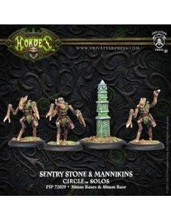 Circle Sentry Stone & Mannikins (4)