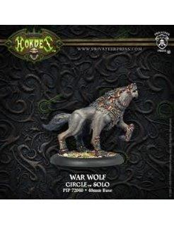 Circle Solo War Wolf