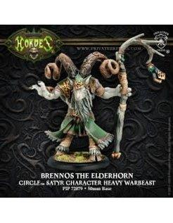 Circle Heavy Warbeast Brennos Elderhorn inc resin