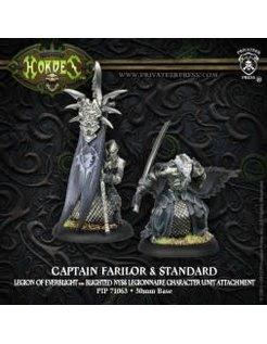 Legion Blighted Nyss Legionnaire Captain Farilor & Std (2)