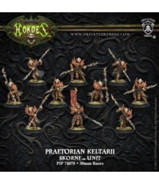 Skorne Praetorian Keltarii OR Swordsmen (1 x 10) plastic