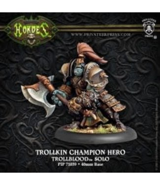 Trollblood Champion Hero