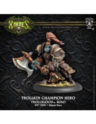 Trollblood Champion Hero