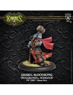 Trollblood Warlock Grissel Bloodsong