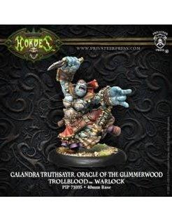 Trollblood Oracle of Glimmerwood Calandra Truthsayer