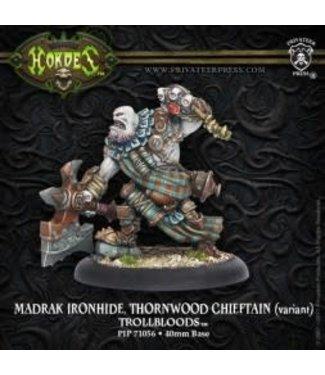 Trollblood Madrak Ironhide Thornwood Chieftain (Alt)