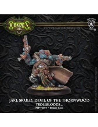Trollblood Warlock Devil of Thornwood Jarl Skuld