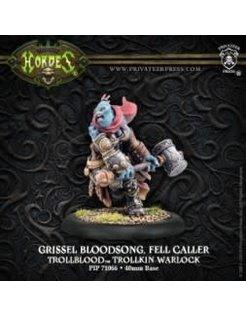 Trollblood Warlock Fell Caller Grissel Bloodsong RESCULPT
