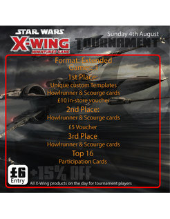 X-Wing Tournament (Sun 4th August 2019)